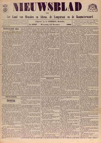 Nieuwsblad het land van Heusden en Altena de Langstraat en de Bommelerwaard 1906-11-14