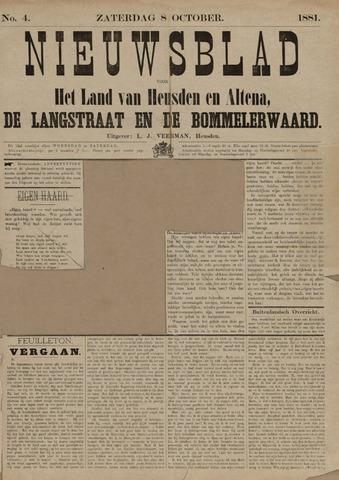 Nieuwsblad het land van Heusden en Altena de Langstraat en de Bommelerwaard 1881-10-08
