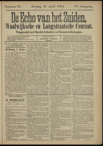 Echo van het Zuiden 1894-04-15