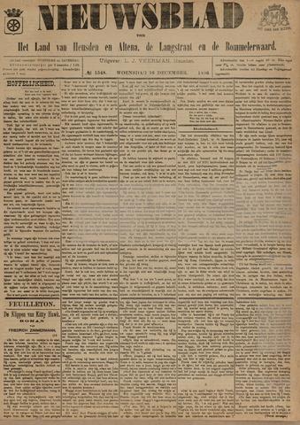 Nieuwsblad het land van Heusden en Altena de Langstraat en de Bommelerwaard 1896-12-16
