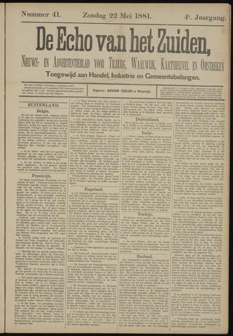 Echo van het Zuiden 1881-05-22