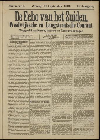 Echo van het Zuiden 1891-09-13