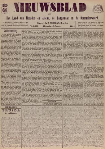 Nieuwsblad het land van Heusden en Altena de Langstraat en de Bommelerwaard 1911-01-04