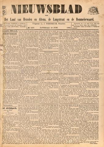 Nieuwsblad het land van Heusden en Altena de Langstraat en de Bommelerwaard 1905-06-10