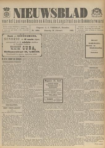 Nieuwsblad het land van Heusden en Altena de Langstraat en de Bommelerwaard 1921-02-26