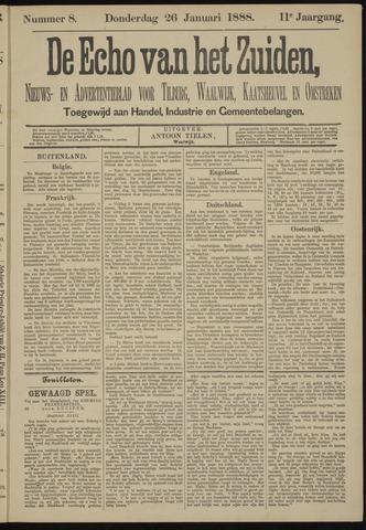 Echo van het Zuiden 1888-01-26