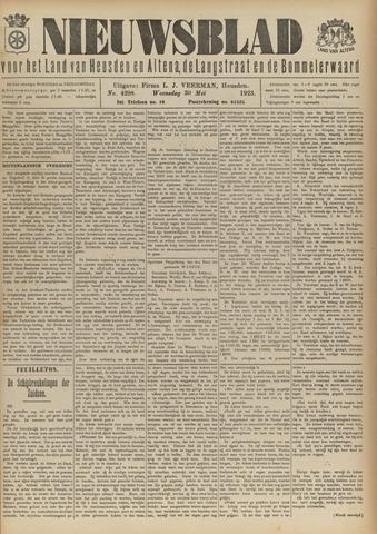 Nieuwsblad het land van Heusden en Altena de Langstraat en de Bommelerwaard 1923-05-30