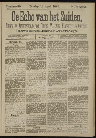 Echo van het Zuiden 1886-04-11
