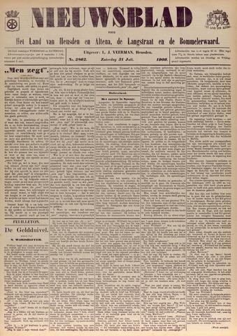 Nieuwsblad het land van Heusden en Altena de Langstraat en de Bommelerwaard 1909-07-31