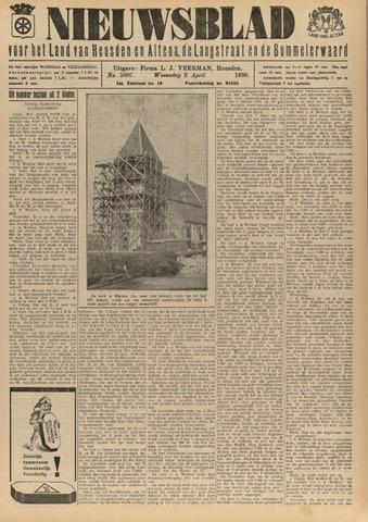 Nieuwsblad het land van Heusden en Altena de Langstraat en de Bommelerwaard 1930-04-02