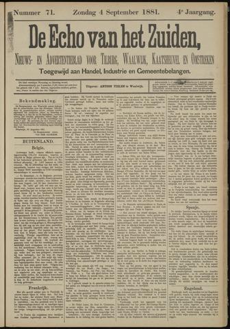Echo van het Zuiden 1881-09-04