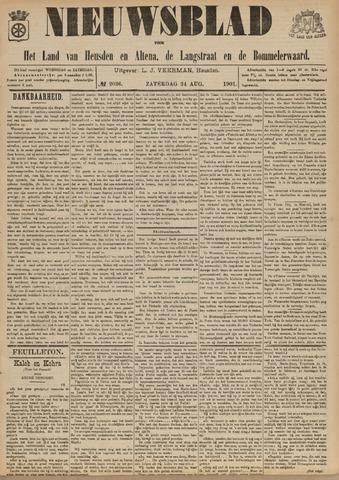 Nieuwsblad het land van Heusden en Altena de Langstraat en de Bommelerwaard 1901-08-24