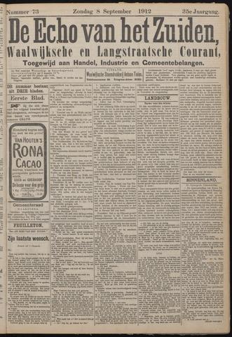 Echo van het Zuiden 1912-09-08