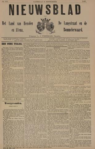 Nieuwsblad het land van Heusden en Altena de Langstraat en de Bommelerwaard 1888-09-08