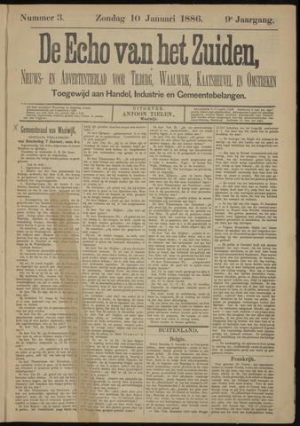 Echo van het Zuiden 1886-01-10