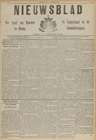 Nieuwsblad het land van Heusden en Altena de Langstraat en de Bommelerwaard 1891-08-01