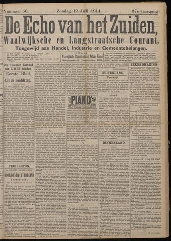 Echo van het Zuiden 1914-07-12