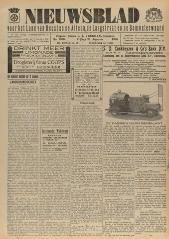 Nieuwsblad het land van Heusden en Altena de Langstraat en de Bommelerwaard 1930-08-29