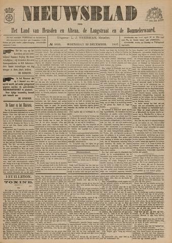 Nieuwsblad het land van Heusden en Altena de Langstraat en de Bommelerwaard 1897-12-22
