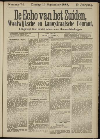 Echo van het Zuiden 1888-09-16
