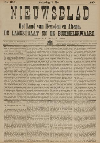 Nieuwsblad het land van Heusden en Altena de Langstraat en de Bommelerwaard 1885-05-09