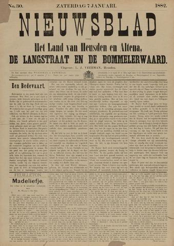 Nieuwsblad het land van Heusden en Altena de Langstraat en de Bommelerwaard 1882-01-07