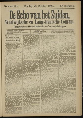 Echo van het Zuiden 1894-10-28