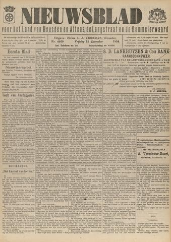 Nieuwsblad het land van Heusden en Altena de Langstraat en de Bommelerwaard 1924-12-19