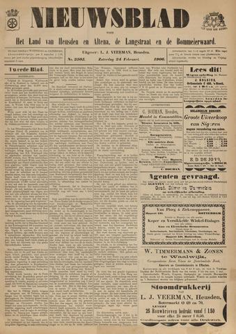 Nieuwsblad het land van Heusden en Altena de Langstraat en de Bommelerwaard 1906-02-24