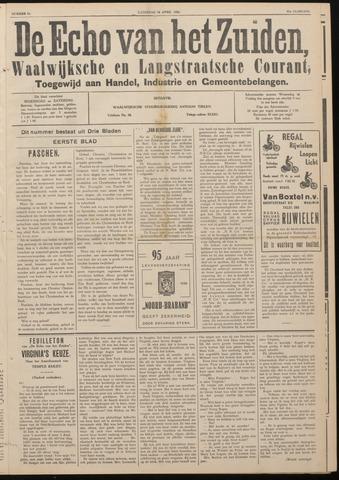 Echo van het Zuiden 1938-04-16