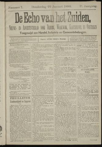 Echo van het Zuiden 1880-01-22