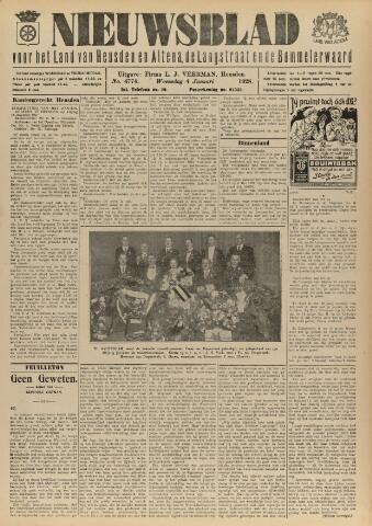 Nieuwsblad het land van Heusden en Altena de Langstraat en de Bommelerwaard 1928-01-04
