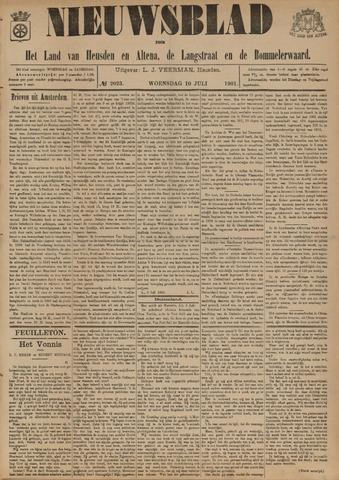 Nieuwsblad het land van Heusden en Altena de Langstraat en de Bommelerwaard 1901-07-10