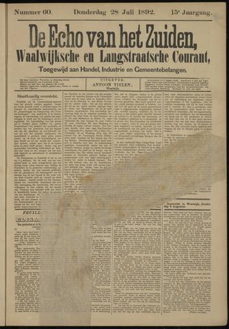 Echo van het Zuiden 1892-07-28