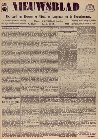 Nieuwsblad het land van Heusden en Altena de Langstraat en de Bommelerwaard 1911-05-27