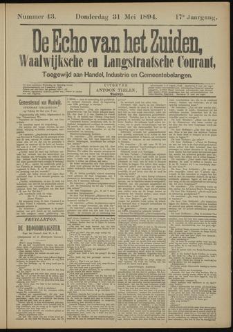 Echo van het Zuiden 1894-05-31