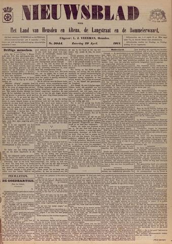 Nieuwsblad het land van Heusden en Altena de Langstraat en de Bommelerwaard 1911-04-29