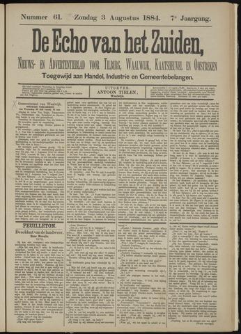 Echo van het Zuiden 1884-08-03