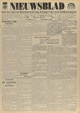 Nieuwsblad het land van Heusden en Altena de Langstraat en de Bommelerwaard 1929-07-24