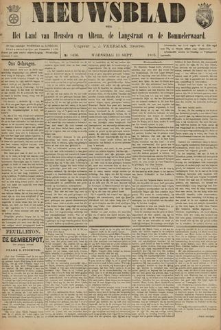 Nieuwsblad het land van Heusden en Altena de Langstraat en de Bommelerwaard 1895-09-11