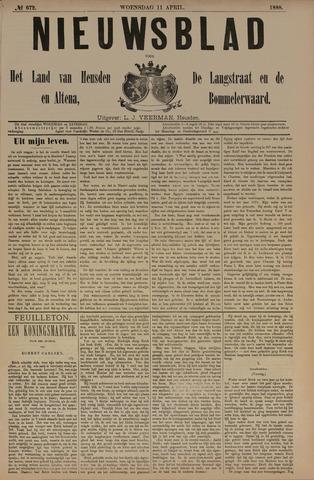 Nieuwsblad het land van Heusden en Altena de Langstraat en de Bommelerwaard 1888-04-11