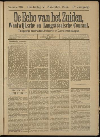 Echo van het Zuiden 1895-11-21