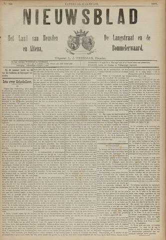 Nieuwsblad het land van Heusden en Altena de Langstraat en de Bommelerwaard 1891-01-31