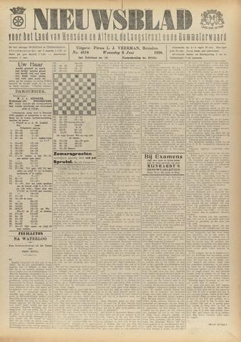 Nieuwsblad het land van Heusden en Altena de Langstraat en de Bommelerwaard 1928-06-06