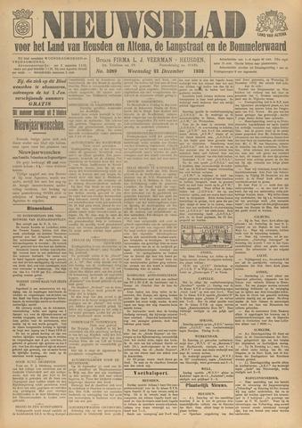 Nieuwsblad het land van Heusden en Altena de Langstraat en de Bommelerwaard 1932-12-21