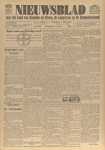 Nieuwsblad het land van Heusden en Altena de Langstraat en de Bommelerwaard 1934-01-17