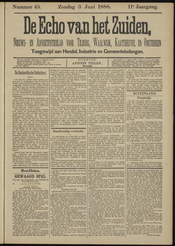 Echo van het Zuiden 1888-06-03