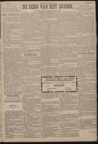 Echo van het Zuiden 1918-01-31