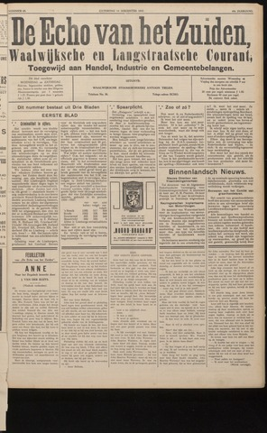 Echo van het Zuiden 1937-08-14
