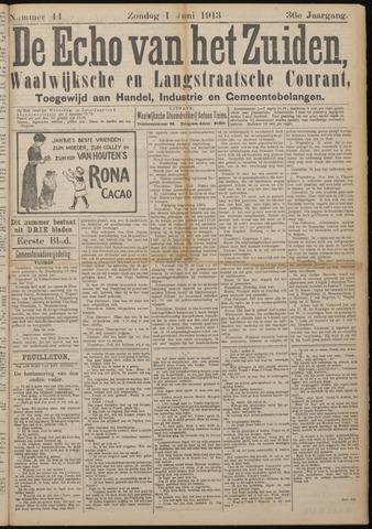 Echo van het Zuiden 1913-06-01